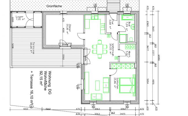 Wohnung OG Haus 3